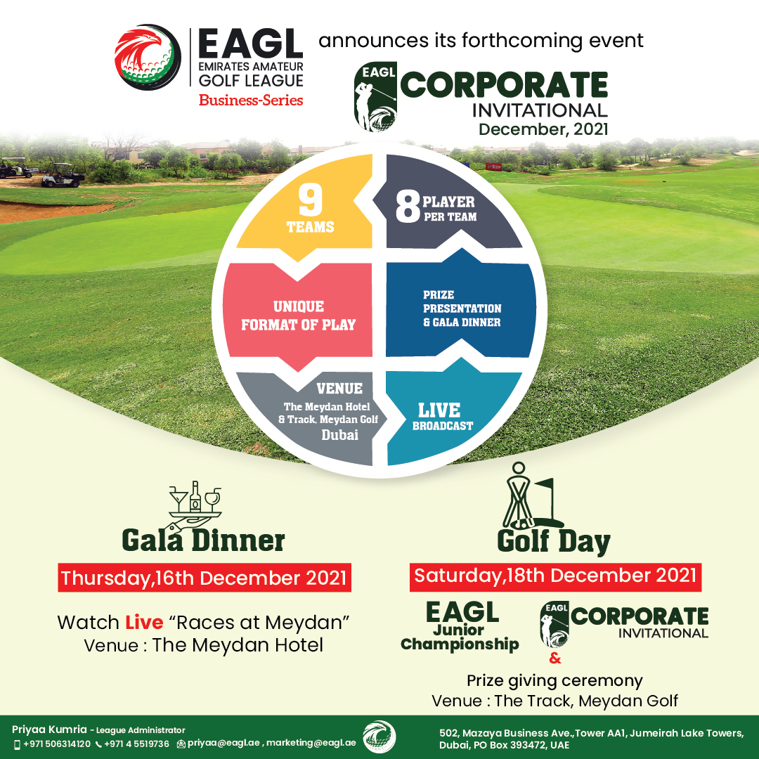 EAGL announces its forthcoming event